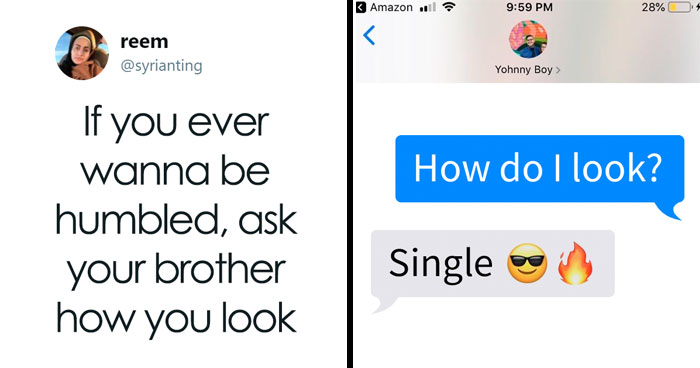 30 Sisters Ask Brothers How They Look, Post Their Responses