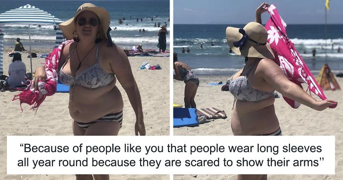 a1bd056996 Men Made Fun Of This Woman For Wearing A Bikini, But Instead of Covering Up,  She Shut Them Down