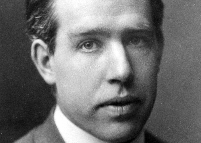 Niels Bohr to a reporter