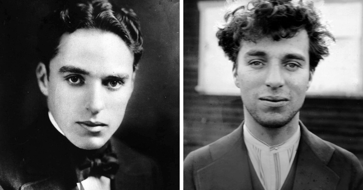 12 Rarely Seen Portraits Of A Mustache-Less Charlie Chaplin In Honor Of The Comic's 130th Birthday