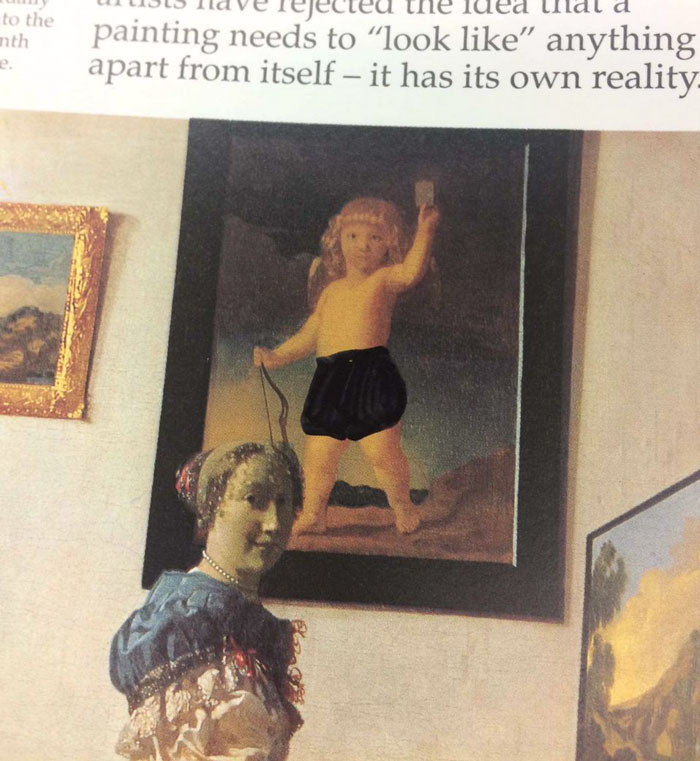 Student Shares Pics From Art Book In His Former Christian College And The Censorship Is Beyond Ridiculous