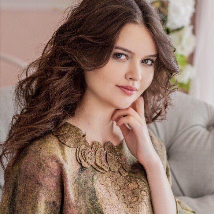 Felted Dress-Stories By Natalia Ivanova