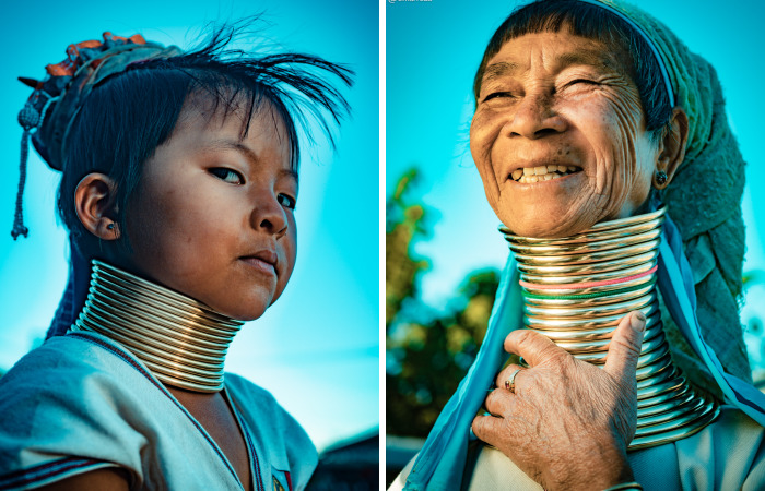 I Photographed The Unusual Fashion Of The Kayan Tribe