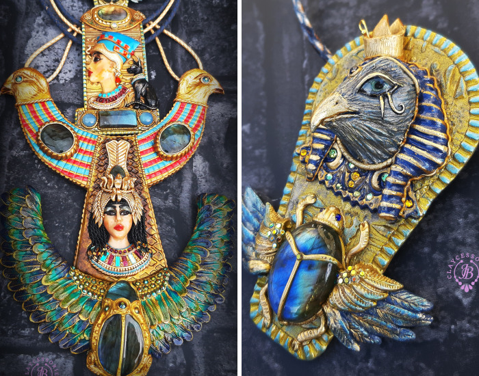 I Make Ancient Egyptian Jewelry From Polymer Clay