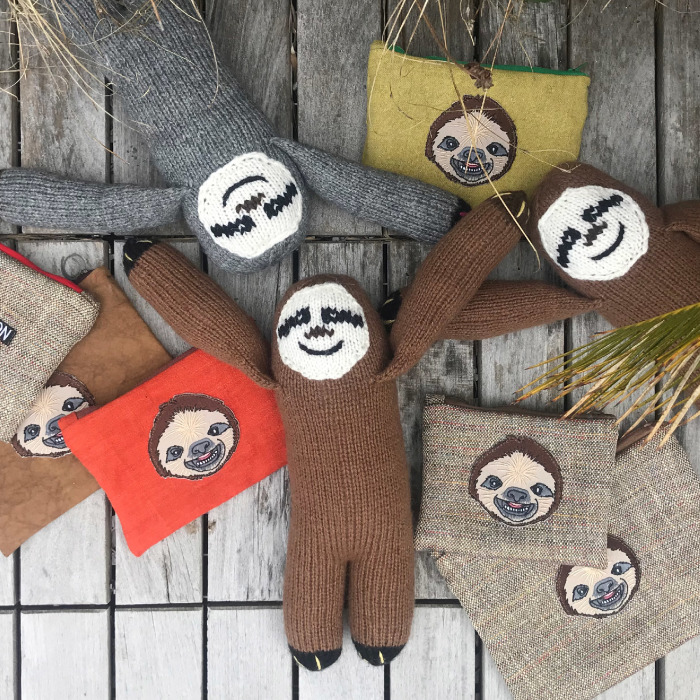 I Make Sloth Accessories By Hand Every Day