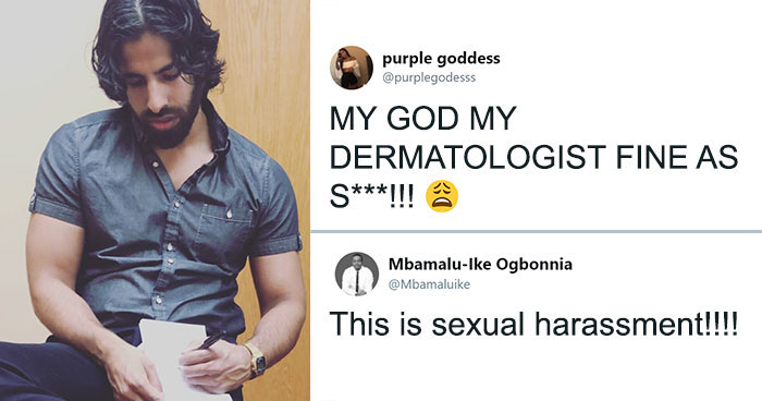 Woman Posts Her Doctor's Pic Without His Consent To Sexualize Him, Gets Destroyed In The Comment Section