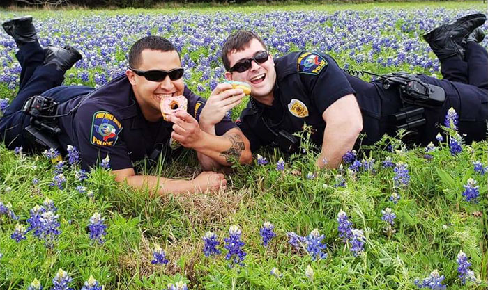 Police-Pics-Back-The-Blue-Bonnets-Texas