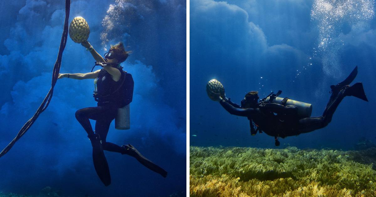 Dragon Egg Found Underwater – 'Game Of Thrones' Inspired Photoshoot