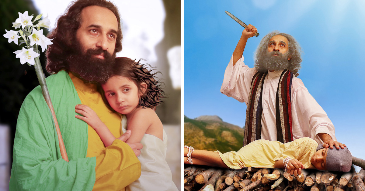 We Did A Family Enact Workshop To Tell The Stories Of Heroes Of Bible To Our Kids