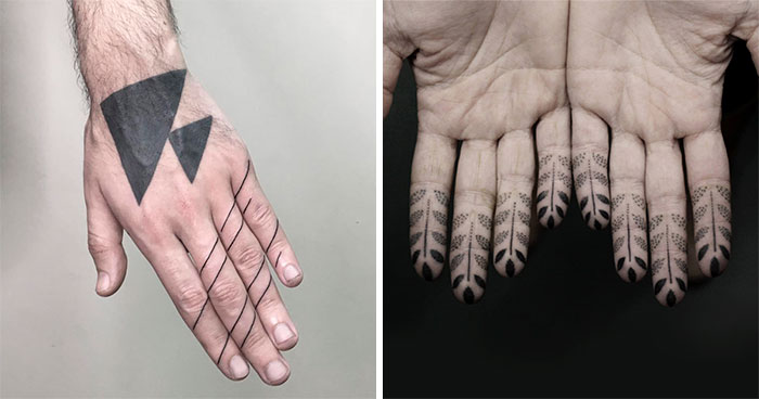 Finger Tattoos Are The Newest Trend, And We've Collected Some Amazing Ideas For You To Check