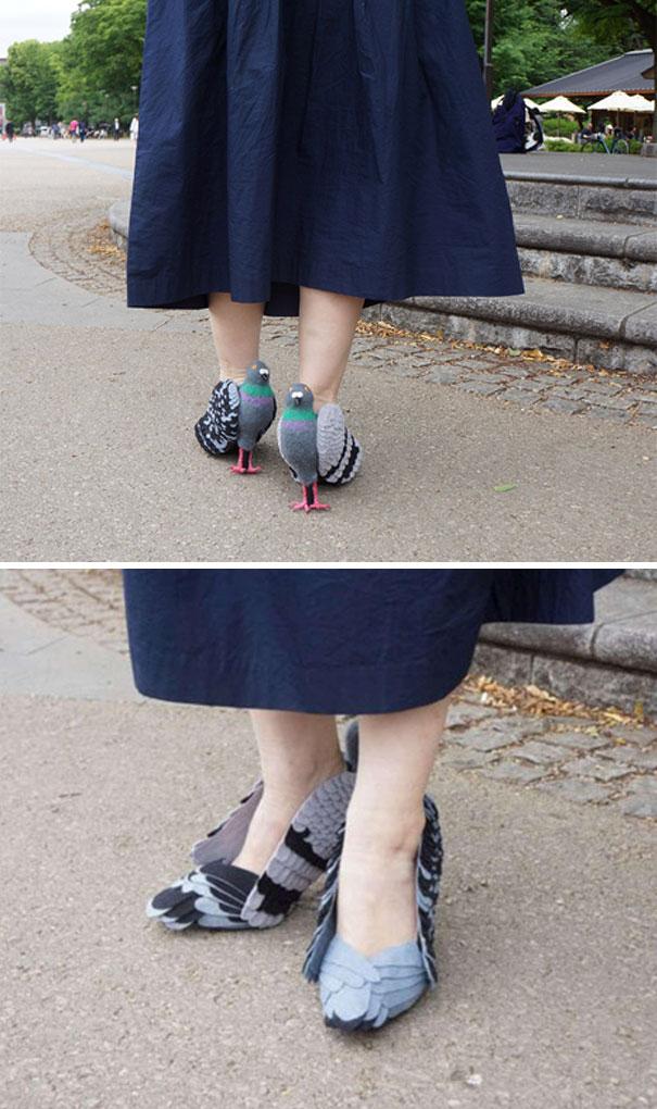 Pigeon Heels