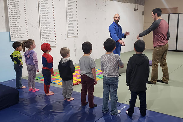 """My Son Was Invited To A Birthday Party To Learn """"Superhero"""" Moves. Aka Jujitsu. He Took It Very Seriously"""
