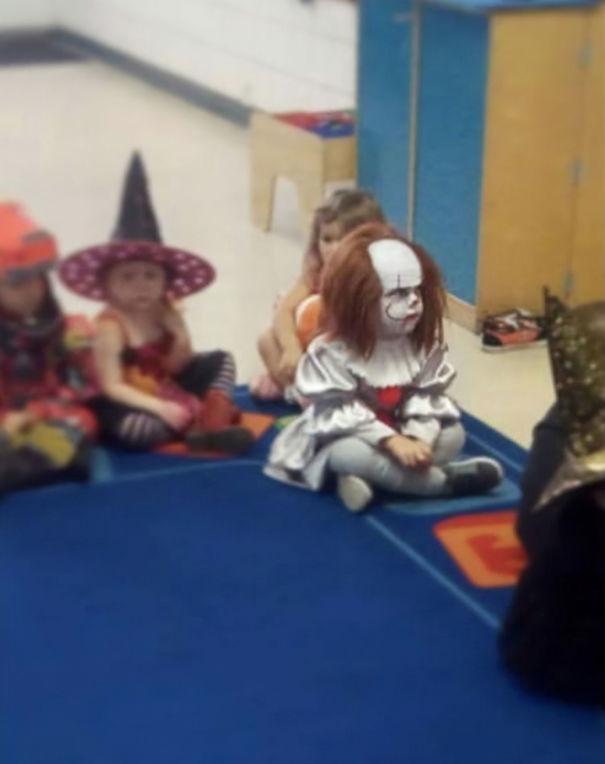 My Friend's 3-Year-Old Son In Preschool Today