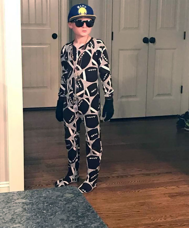 The Outfit My Nephew Wore To Meet My Boyfriend