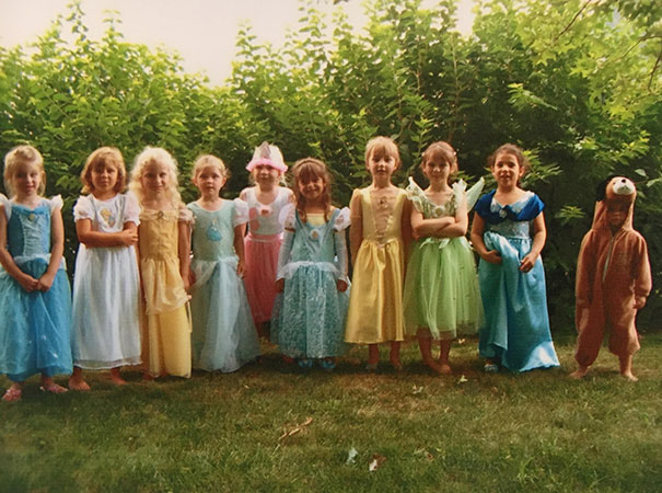 """Little Sister Was Invited To The """"Princess Party"""". But She Wanted To Be A Puppy"""