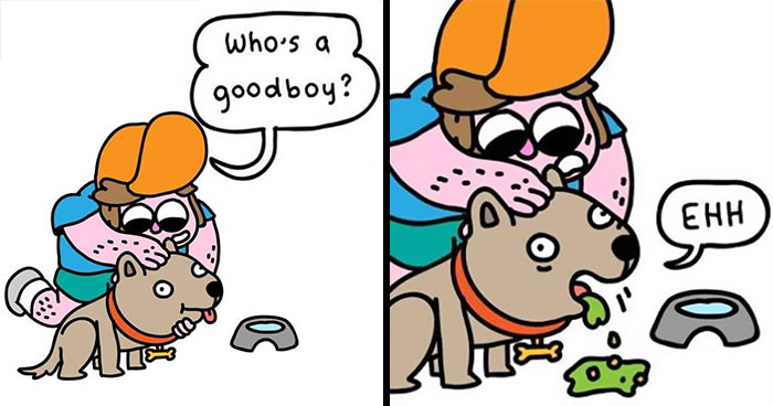 8 Comics About Everyday Life With My Dog, Mushu