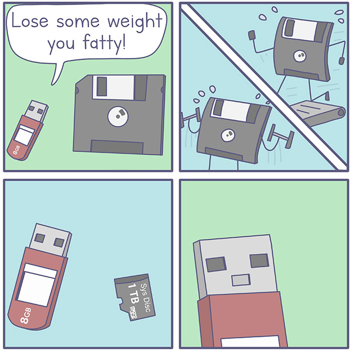 I Illustrated Another 20 Funny Computer Comics That Everyone Will Find Relatable