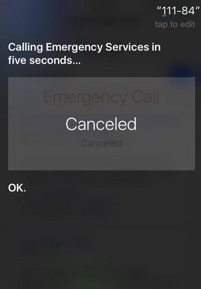 111 - 84 = Call 911. Thanks Siri