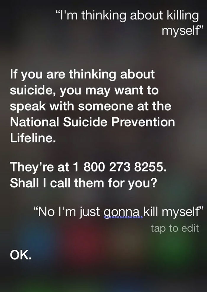 Thanks, Siri