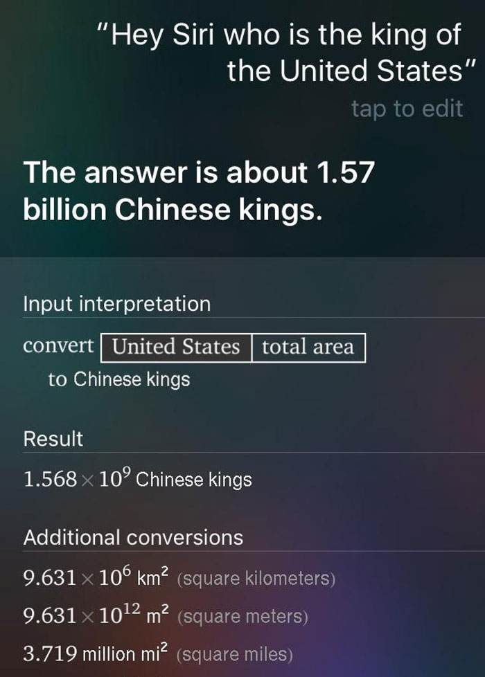 Solid Unit Conversion, Siri