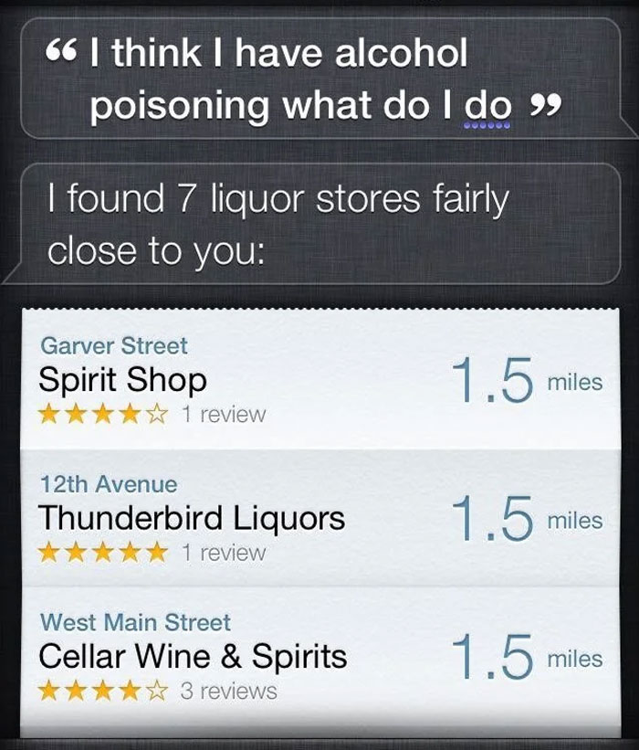 Hey Siri, You Get It