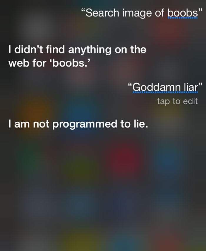 Siri Is Full Of Sh*t