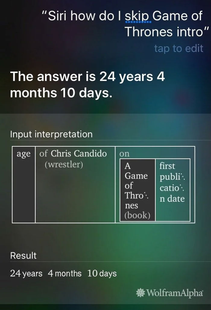 Siri Back At It Again