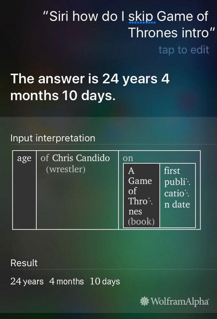 Siri Back At It Again