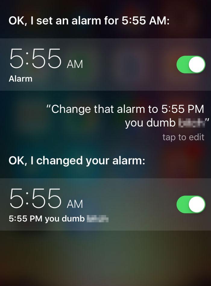 Siri Strike Again
