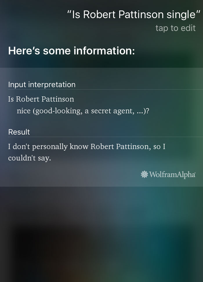 Siri Doesn't Know Everything