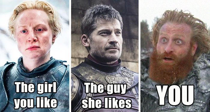 30 Of The Funniest Tormund And Brienne From GoT Memes