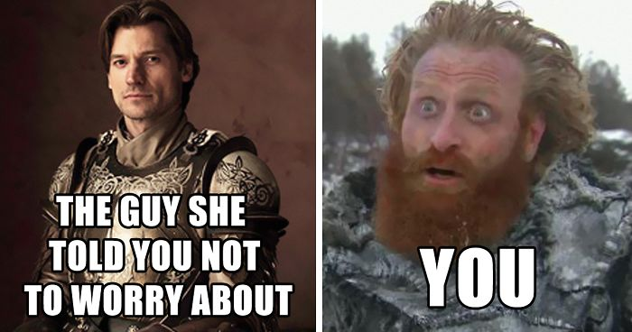 30 Of The Funniest Tormund And Brienne From Got Memes Bored Panda