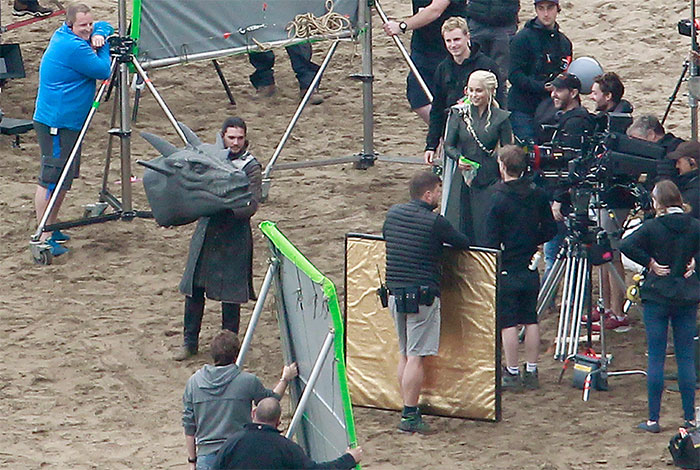 Behind The Scenes Of Season 7