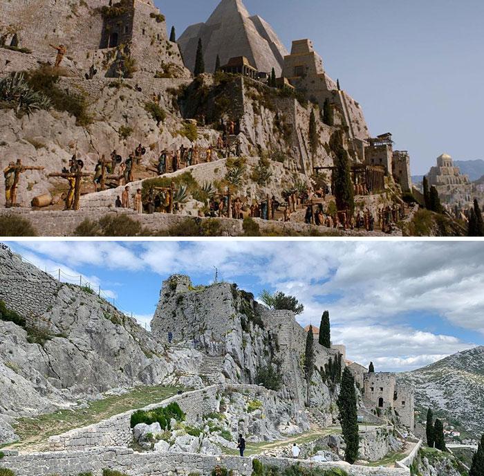 Klis Fortress In Split, Croatia - Meereen
