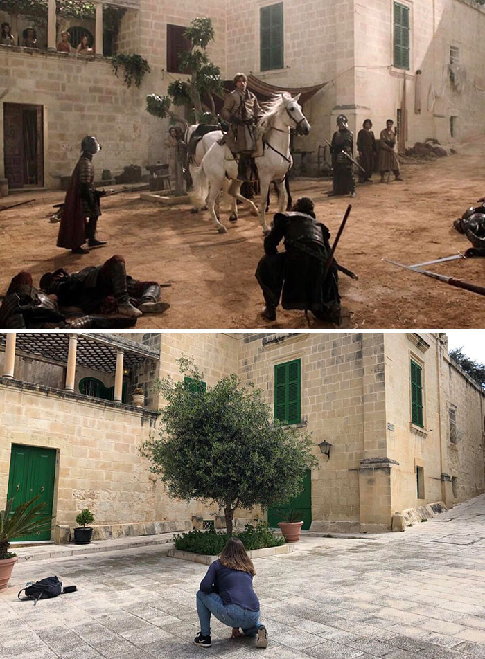 Mequite Square, Mdina, Malta - King's Landing