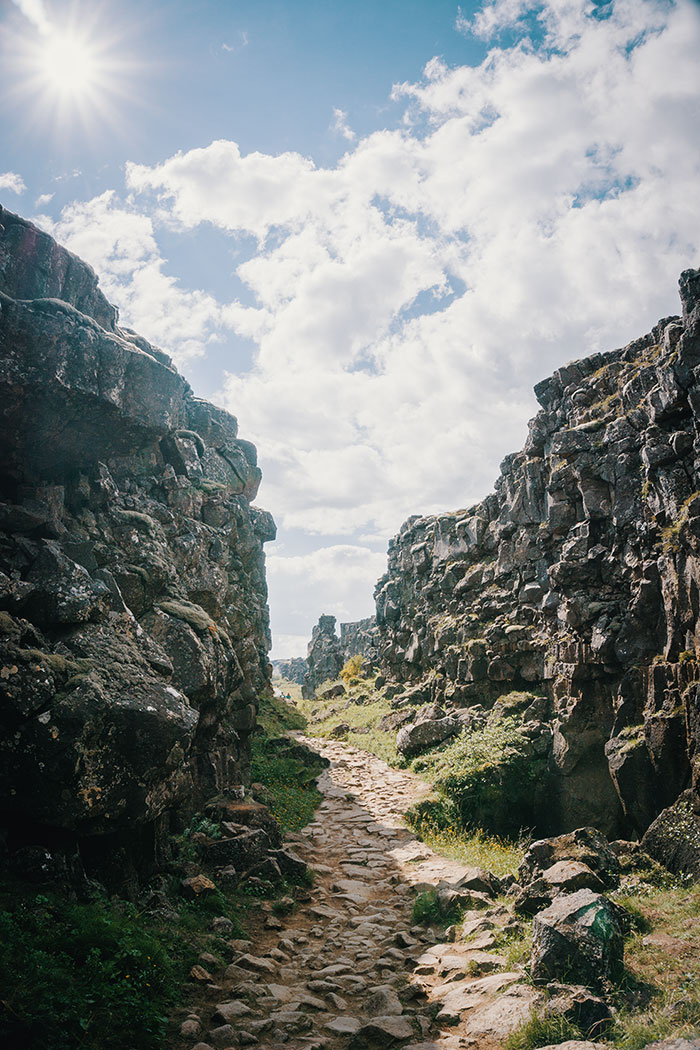 The Eyrie From Game Of Thrones In Iceland, Þingvellir
