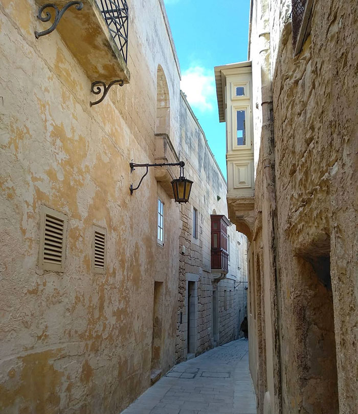 Very Moody Streets Of Mdina. Appreciated Even By The Creators Of The Game Of Thrones (Pretended To Be A King's Landing)