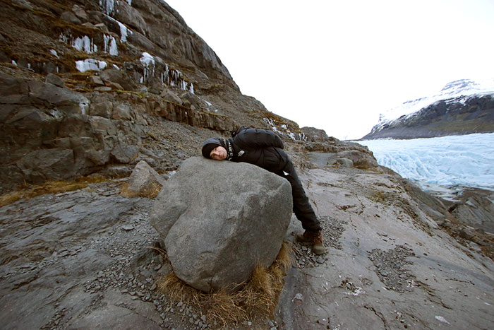 Ygritte's Rock – Svinafellsjokull Glacier, Iceland