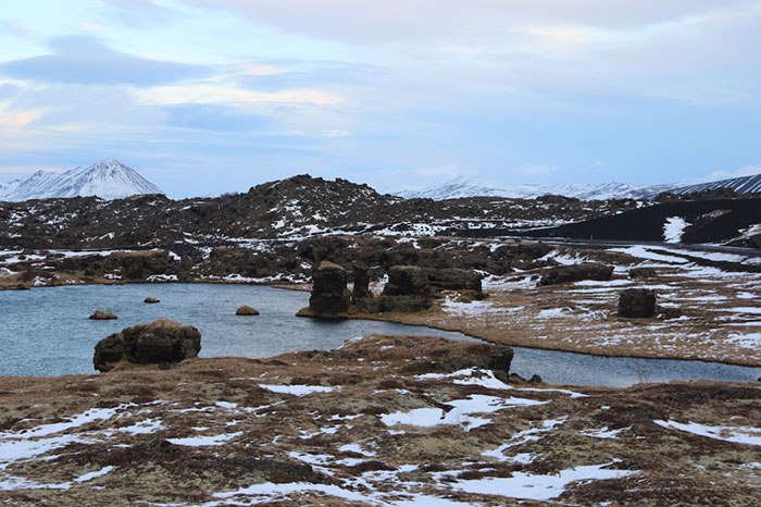 Wildling Camp – Hofdi Pillars, Iceland