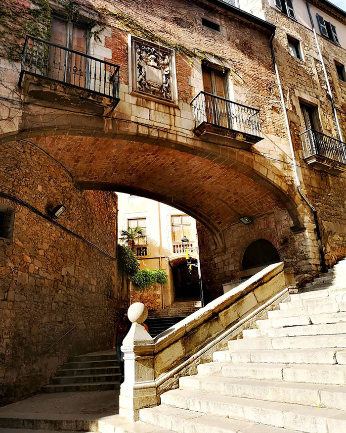 One Of Many Romantic Views In Girona's Old Town As Well As One Of Game Of Thrones Locations