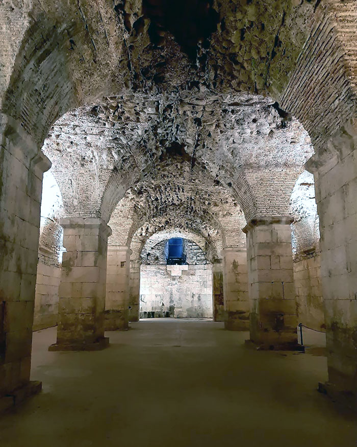 One Of The Most Preserved Ancient Buildings In The World, Diocletian's Palace. Here Daenerys Targaryen Held The Dragons In Game Of Thrones