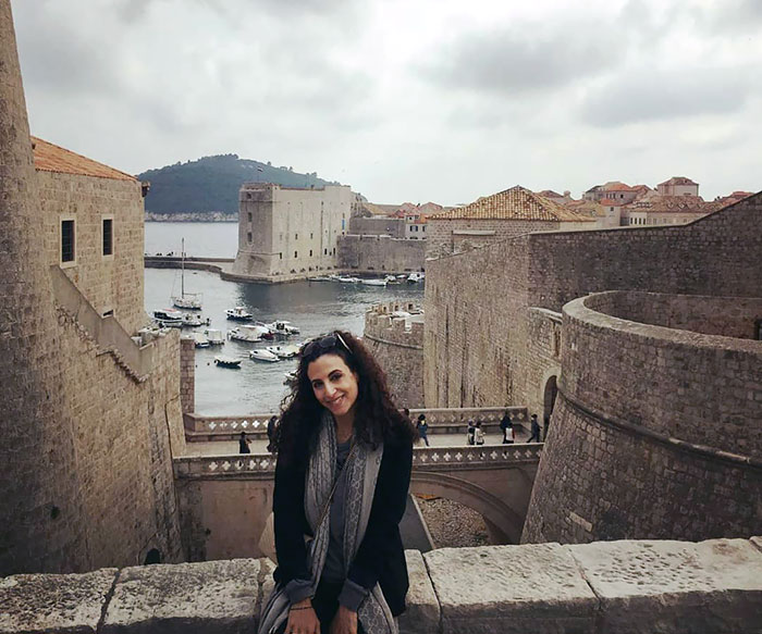 View Over King's Landing In Dubrovnik, Croatia