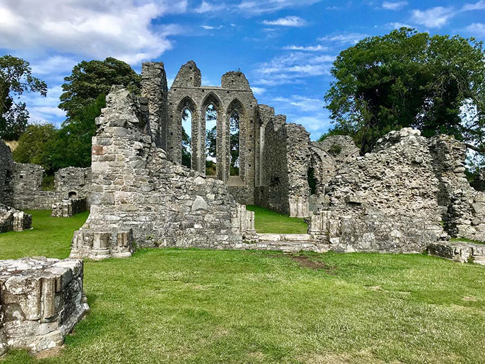 Inch Abbey, Downpatrick, Northern Ireland. A Place Where Robb Stark Is Made A King Of The North