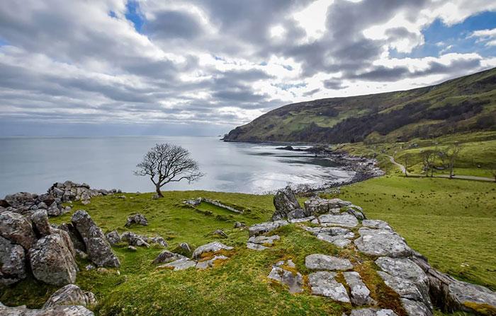 Murlough Bay In Northern Ireland