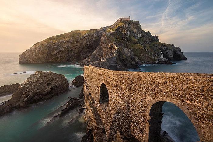 One Of The Locations Of The Game Of Thrones Series - San Juan De Gaztelugatxe