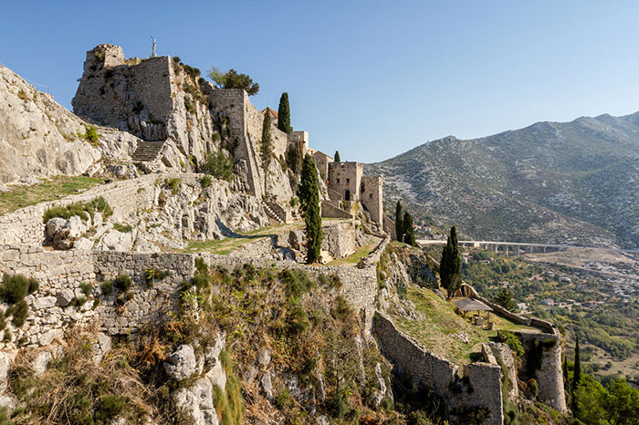 The Beautiful Fortress Of Klis, Croatia. Lately, The Site Has Been A Filming Location For Game Of Thrones, More Precisely The City Of Meereen