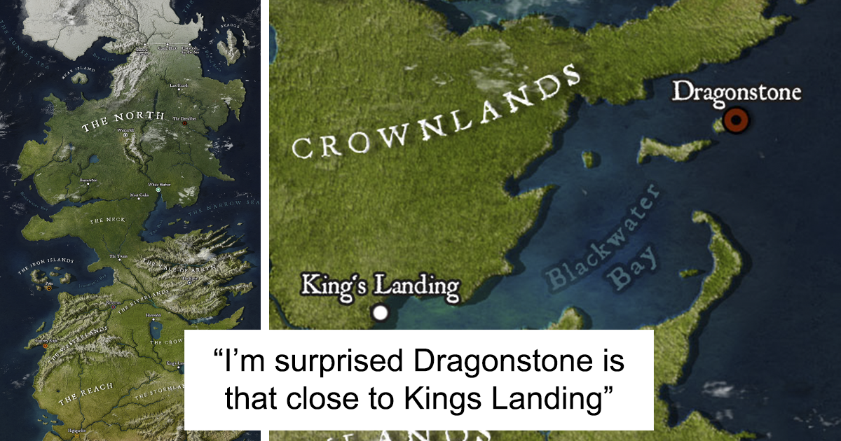 Brazilian GoT Fan Just Drew A Perfect Westeros Map So You Could Better Imagine Where Everything Is