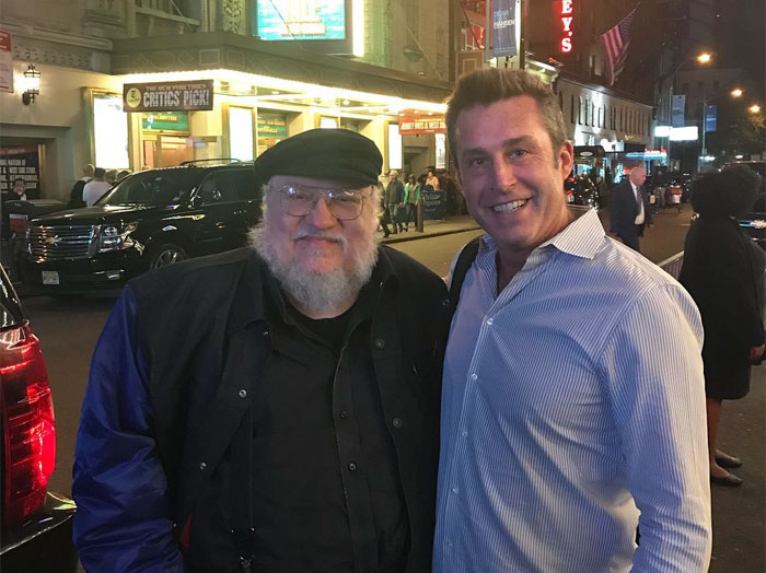 George RR Martin Unknowingly Has Dinner With Dying Fan, His Friend Thanks Him With Wholesome Post