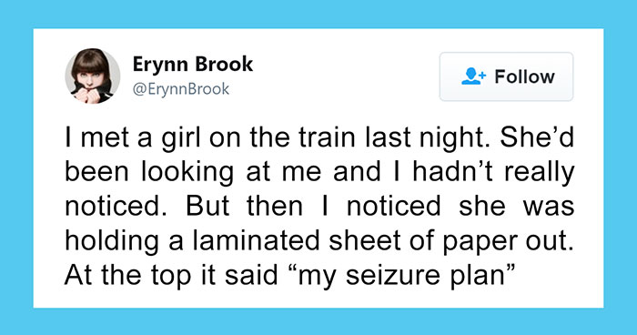 18-Year-Old Starts Having A Seizure On The Train, Receives Help From Total Stranger That Later Shares The Whole Story On Twitter