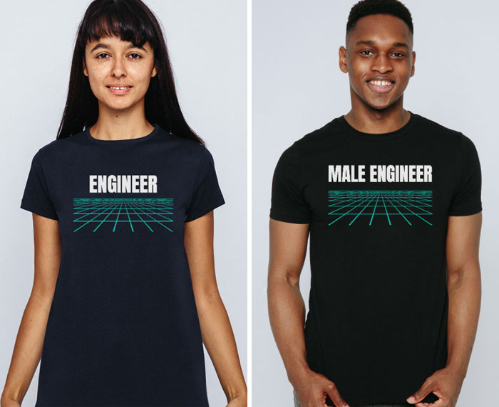 Company Creates Satirical T-Shirts That Intentionally Portray Men The Way Society Portrays Women (11 Pics)